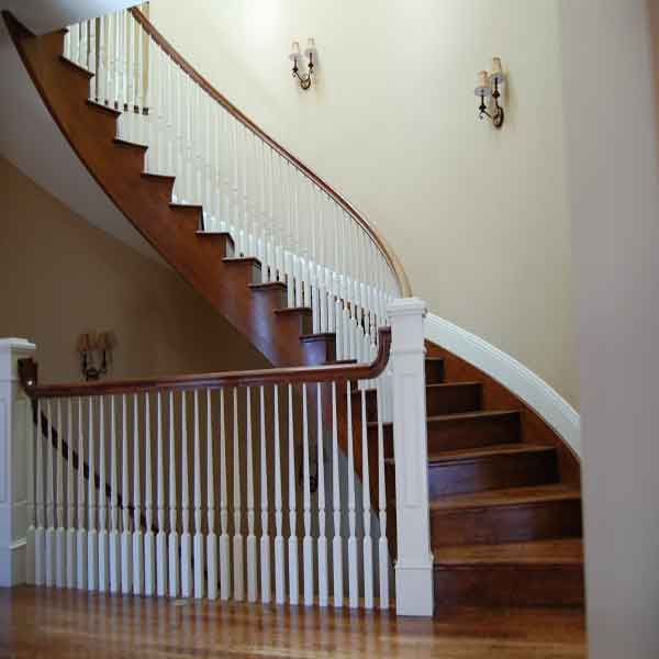We can design any type of railings whichever way you like