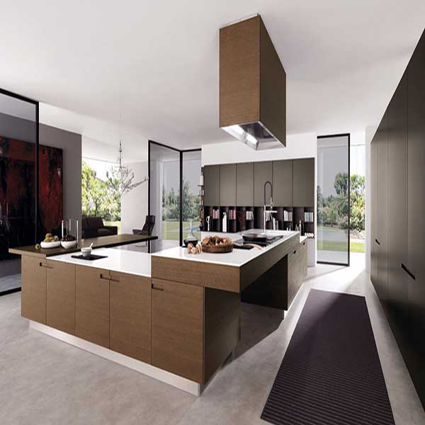 An ultra modern kitchen from top to bottom